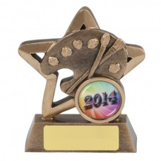 Achievement Award Mini Star Series 95mm - Art