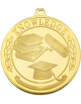 Academic Glazier Frosted Medal 50mm