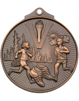 Cross Country Sunraysia Medal 52mm - Bronze