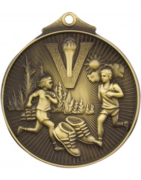 Cross Country Sunraysia Medal 52mm - Gold