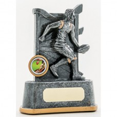 Aussie Rules Resin Trophy 165mm