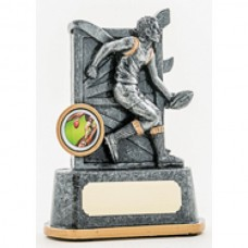 Aussie Rules Resin Trophy 140mm
