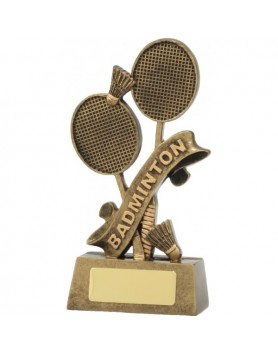 Badminton Resin Trophy 160mm