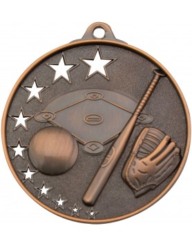 Baseball Hollow Star Series 52mm - Bronze