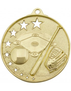 Baseball Hollow Star Series 52mm - Gold