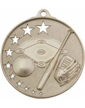 Baseball Hollow Star Series 52mm - Silver