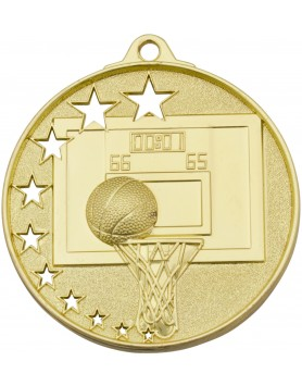 Basketball Hollow Star Series 52mm - Gold