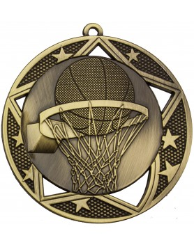 Basketball  Medal - 70mm