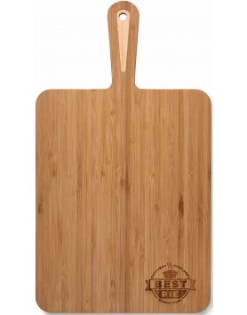 Cheese Board Bamboo with Handle 39cm x 22cm