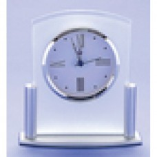 Clock Glass/Stainless Steel 160mm