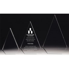 Acrylic 30mm Arrowhead Award 200mm