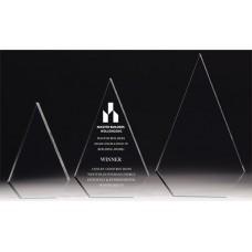 Acrylic 30mm Arrowhead Award 200mm