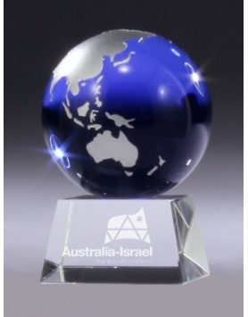 Crystal Globe Award 110mm