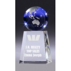 Crystal Globe Award 130mm