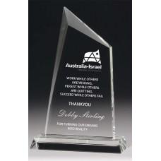 Crystal Single Peak Award 220mm