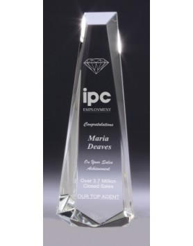 Crystal Standout Award 255mm