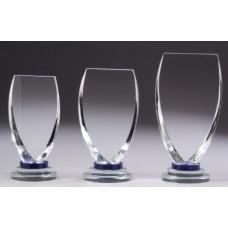 Crystal 32mm Champion Blue Award 185mm