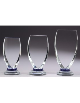 Crystal 32mm Champion Blue Award 185mm