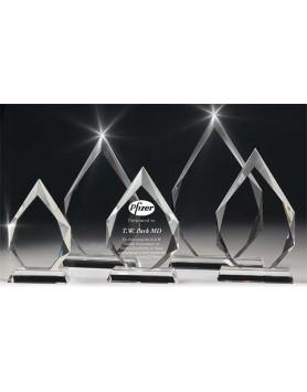 Crystal Arrowhead Award 170mm