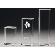 Crystal 60mm Tower Award 100mm