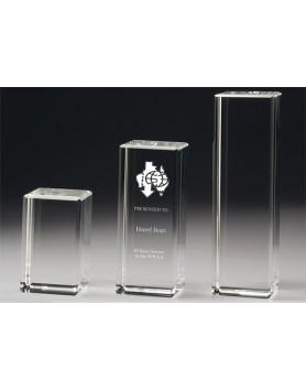 Crystal 60mm Tower Award 100mm