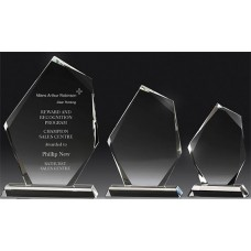 Crystal 16mm Peak Award 175mm