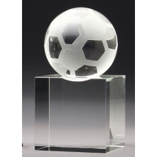 Soccer Crystal Ball 150mm