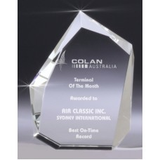 Crystal X-Thick Prism Award 160mm