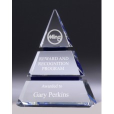 Crystal Pyramid Award 195mm