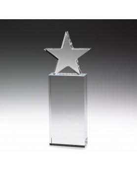 Crystal Star Award 255mm