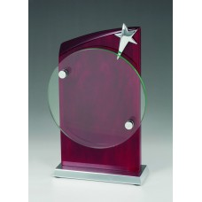 Rosewood & Glass Star Award 205mm