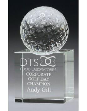 Golf Crystal Spinning Ball 150mm