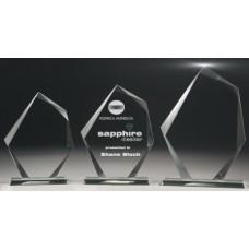 Glass 10mm Peak Award 190mm