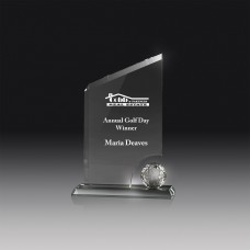 Golf Glass Award 220mm