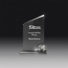 Golf Glass Award 220mm