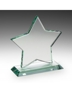 Jade Glass Star Award 180mm