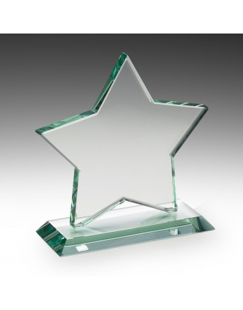 Jade Glass Star Award 135mm