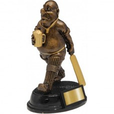 Cricket Fat Bald Man Award 165mm