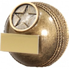 Cricket Ball Resin Trophy 61mm