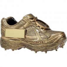 Cricket Boot Resin Trophy 73mm