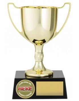 Cup Die Cast Metal Gold 145mm