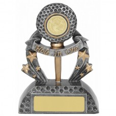 Golf Hole in One Trophy 140mm