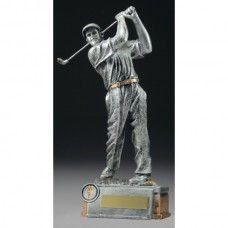 Golf Male Golfer Trophy 210mm