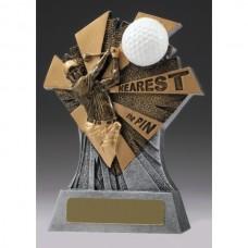 Golf Smash Nearest the Pin Trophy 155mm