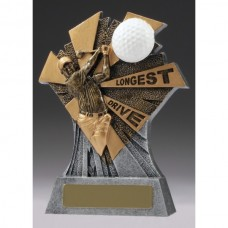 Golf Smash Longest Drive Trophy 155mm