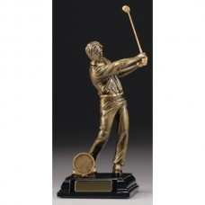 Male Golfer Trophy 210mm
