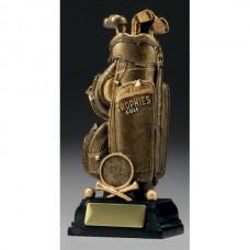 Golf Bag Trophy 160mm