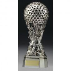 Golf Raised Scene Trophy 150mm