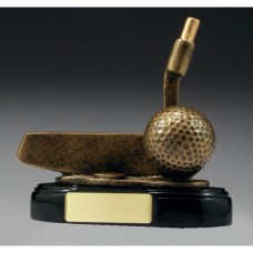 Golf Putter Trophy 110mm