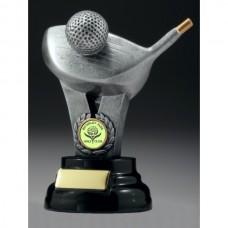 Golf Driver Trophy 180mm